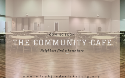 Coming Soon: The Community Cafe